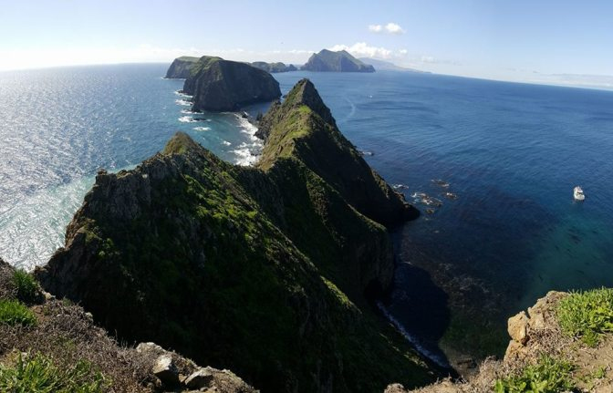 The Beauty of Anacapa Island