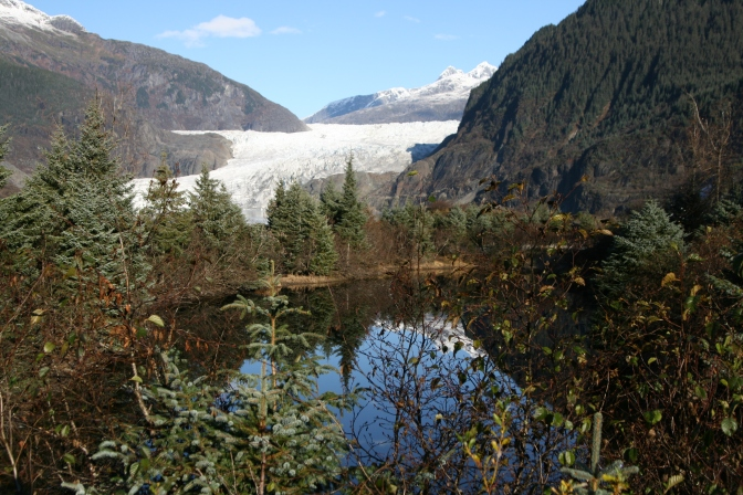 Alaska: Braving the Arctic cold at Mendenhall Glacier